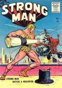 Cover Thumbnail for Strongman (Magazine Enterprises, 1955 series) #1 [A-1 #130]
