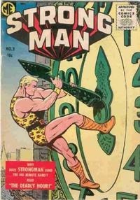 Cover Thumbnail for Strongman (Magazine Enterprises, 1955 series) #3 [A-1 #134]