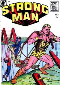 Cover Thumbnail for Strongman (Magazine Enterprises, 1955 series) #4 [A-1 #139]