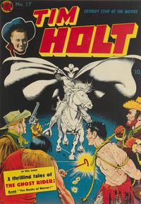 Cover Thumbnail for Tim Holt (Magazine Enterprises, 1948 series) #17