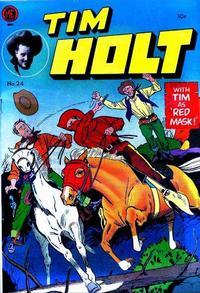 Cover Thumbnail for Tim Holt (Magazine Enterprises, 1948 series) #24