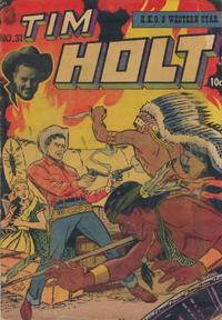Cover Thumbnail for Tim Holt (Magazine Enterprises, 1948 series) #31