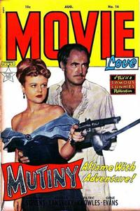 Cover Thumbnail for Movie Love (Eastern Color, 1950 series) #16