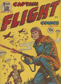 Cover Thumbnail for Captain Flight Comics (Four Star Publications, 1944 series) #3