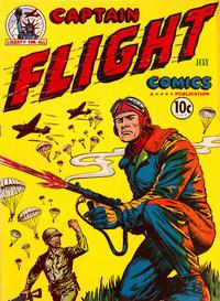 Cover Thumbnail for Captain Flight Comics (Four Star Publications, 1944 series) #3