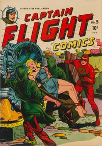 Cover Thumbnail for Captain Flight Comics (Four Star Publications, 1944 series) #5