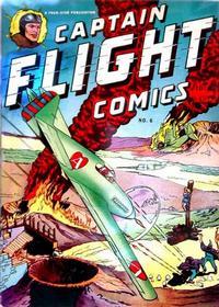 Cover Thumbnail for Captain Flight Comics (Four Star Publications, 1944 series) #6
