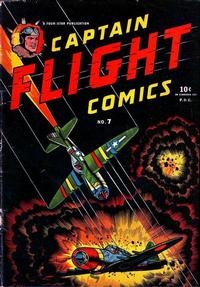 Cover Thumbnail for Captain Flight Comics (Four Star Publications, 1944 series) #7