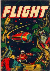 Cover Thumbnail for Captain Flight Comics (Four Star Publications, 1944 series) #11