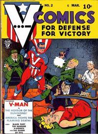 Cover Thumbnail for V...- Comics (Fox, 1942 series) #2