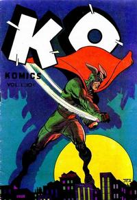 Cover Thumbnail for K-O Komics (Gerona, 1945 series) #1