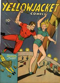Cover Thumbnail for Yellowjacket Comics (Charlton, 1944 series) #1