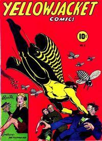 Cover Thumbnail for Yellowjacket Comics (Charlton, 1944 series) #2