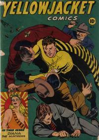 Cover Thumbnail for Yellowjacket Comics (Charlton, 1944 series) #3