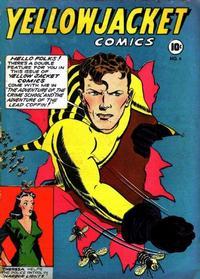 Cover Thumbnail for Yellowjacket Comics (Charlton, 1944 series) #4