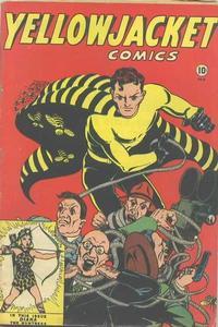 Cover Thumbnail for Yellowjacket Comics (Charlton, 1944 series) #6