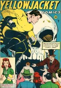 Cover Thumbnail for Yellowjacket Comics (Charlton, 1944 series) #7