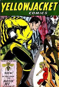Cover Thumbnail for Yellowjacket Comics (Charlton, 1944 series) #8
