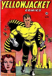 Cover Thumbnail for Yellowjacket Comics (Charlton, 1944 series) #9