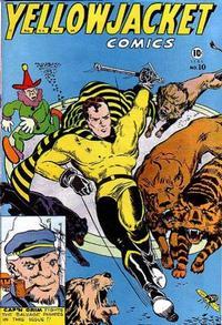 Cover Thumbnail for Yellowjacket Comics (Charlton, 1944 series) #10