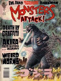 Cover Thumbnail for Monsters Attack (Globe Communications Corp., 1989 series) #4