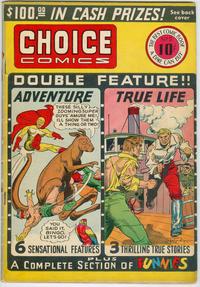 Cover Thumbnail for Choice Comics (Great Comics, 1941 series) #2