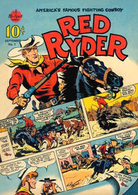 Cover Thumbnail for Red Ryder Comics (Hawley, 1940 series) #1