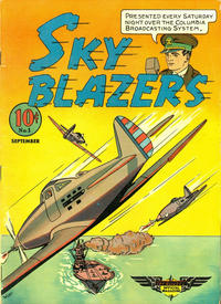 Cover Thumbnail for Sky Blazers (Hawley, 1940 series) #1