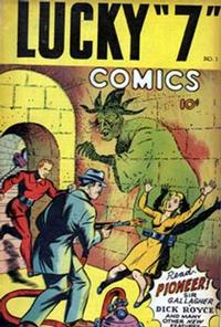 """Cover Thumbnail for Lucky """"7"""" Comic Book (F.E. Howard Publications, 1945 ? series) #1"""