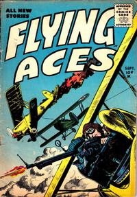 Cover Thumbnail for Flying Aces (Stanley Morse, 1955 series) #2