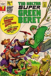 Cover Thumbnail for Super Green Beret (Lightning Comics [1960s], 1967 series) #2