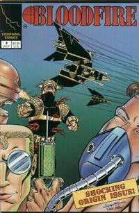 Cover Thumbnail for Bloodfire (Lightning Comics [1990s], 1993 series) #2