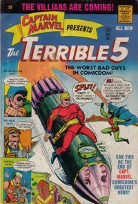 Cover Thumbnail for Captain Marvel Presents the Terrible Five (M.F. Enterprises, 1967 series) #5