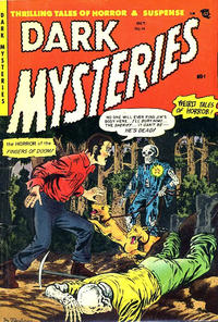 Cover Thumbnail for Dark Mysteries (Master Comics, 1951 series) #14