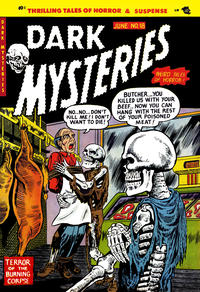 Cover for Dark Mysteries (Master Comics, 1951 series) #18