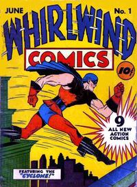 Cover Thumbnail for Whirlwind Comics (Temerson / Helnit / Continental, 1940 series) #1