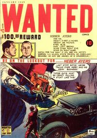 Cover Thumbnail for Wanted Comics (Orbit-Wanted, 1947 series) #17