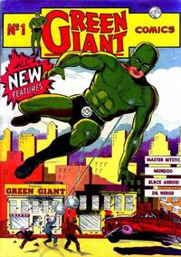 Cover Thumbnail for Green Giant Comics (Pelican Publications (Funnies, Inc.), 1940 series) #1