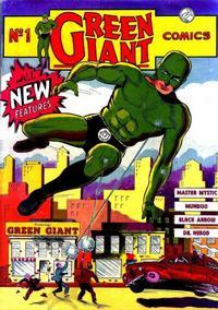 Cover Thumbnail for Green Giant Comics (Pelican Publications (Funnies, Inc.), 1940 series) #1