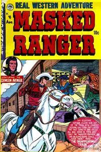 Cover Thumbnail for Masked Ranger (Premier Magazines, 1954 series) #3
