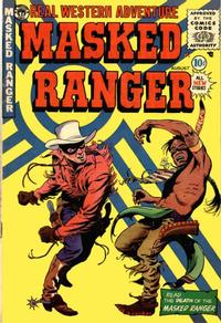 Cover Thumbnail for Masked Ranger (Premier Magazines, 1954 series) #9