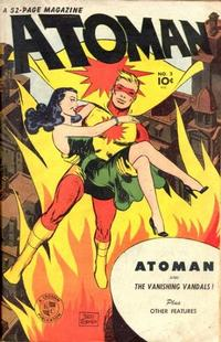 Cover Thumbnail for Atoman Comics (Spark Publications, 1946 series) #2