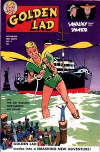 Cover Thumbnail for Golden Lad (Spark Publications, 1945 series) #2