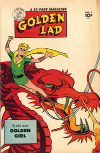 Cover Thumbnail for Golden Lad (Spark Publications, 1945 series) #5