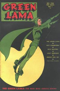 Cover Thumbnail for Green Lama (Spark Publications, 1944 series) #1