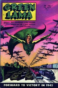 Cover Thumbnail for Green Lama (Spark Publications, 1944 series) #2