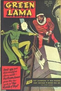 Cover Thumbnail for Green Lama (Spark Publications, 1944 series) #3