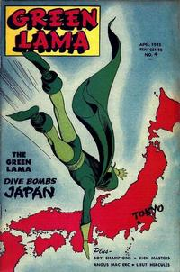 Cover Thumbnail for Green Lama (Spark Publications, 1944 series) #4