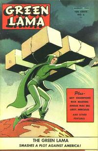 Cover Thumbnail for Green Lama (Spark Publications, 1944 series) #6