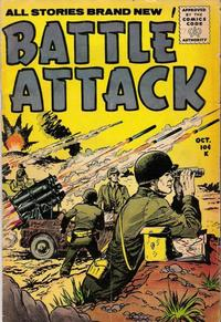 Cover Thumbnail for Battle Attack (Stanley Morse, 1954 series) #7